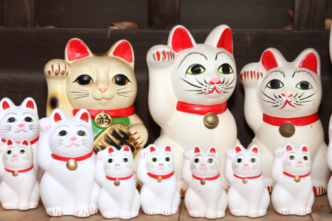 Fournisseur de statuettes Maneki neko